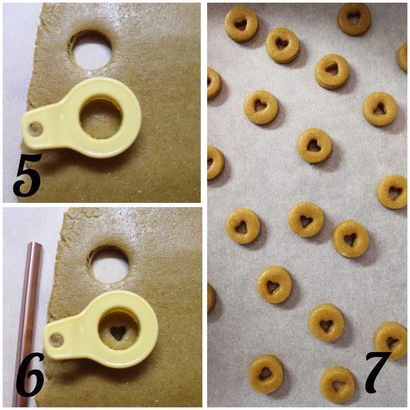procedimento Cereali ciambelline al miele a forma di cuore simil cheerios fatti in casa