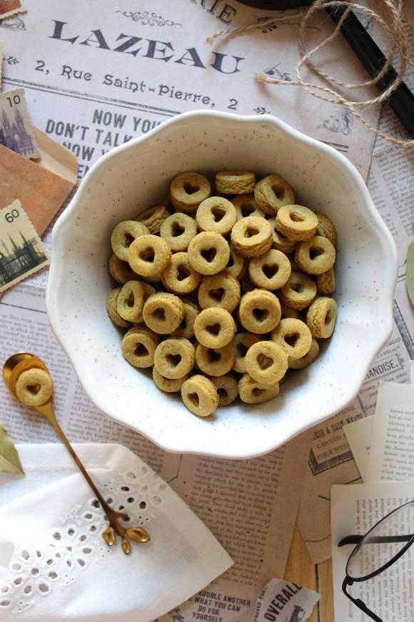 Cereali ciambelline al miele a forma di cuore cheerios