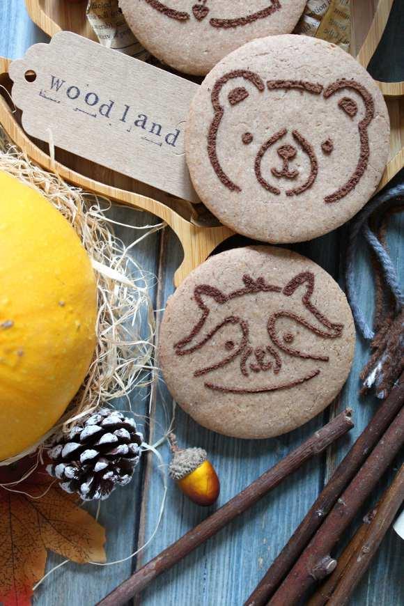 Biscotti sciroppo d'acero e castagne vegan