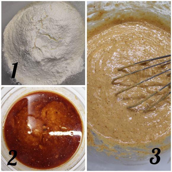 preparazione Tortine alla zucca a forma di zucchette senza uova senza lattosio