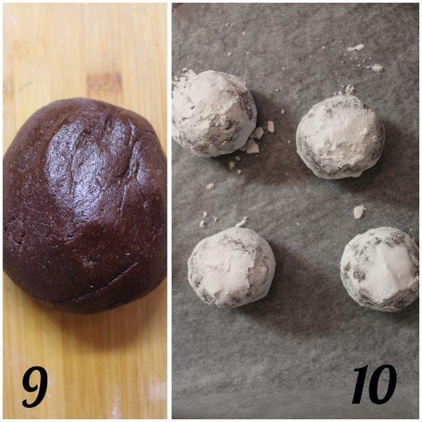 preparazione della Scatola di biscotti (cookie box) di Halloween