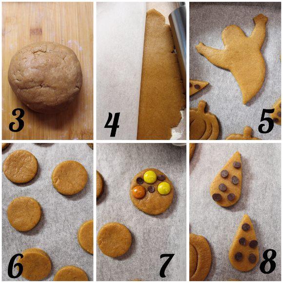 procedimento Scatola di biscotti (cookie box) di Halloween