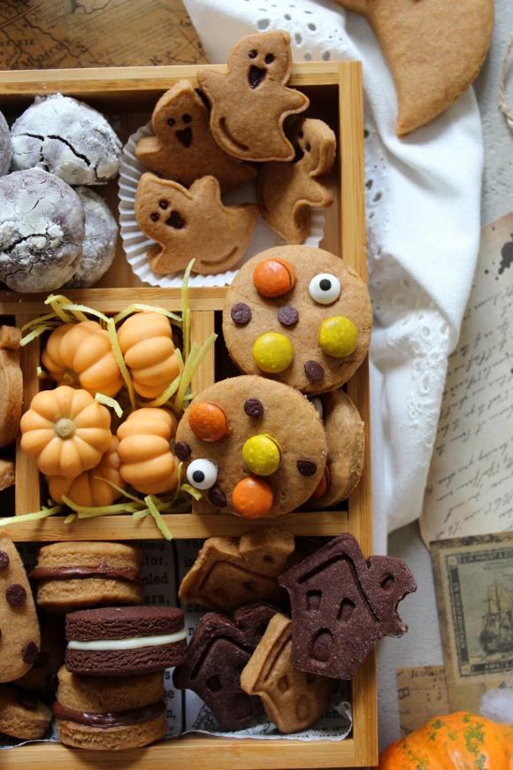 cookie box di Halloween