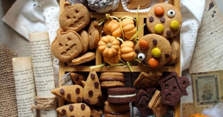 Scatola di biscotti (cookie box) di Halloween