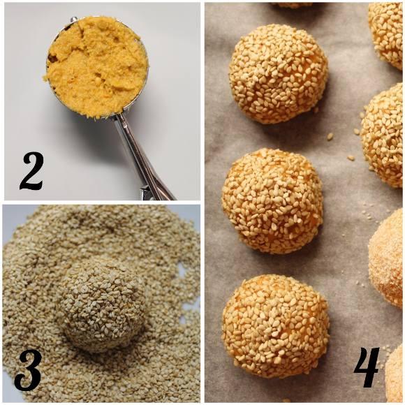 procedimento crocchette di patate dolci senza uova
