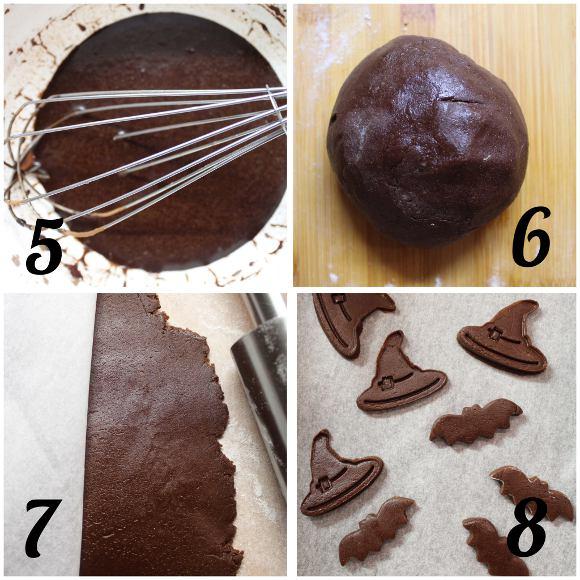 procedimento Biscotti a forma di zucchetta di halloween senza uova senza burro