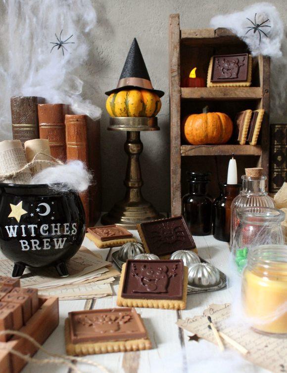 Halloween cookie choc con zucca al doppio cioccolato senza uova senza burro