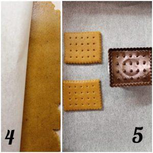 procedimento Halloween cookie choc con zucca al doppio cioccolato senza uova senza burro
