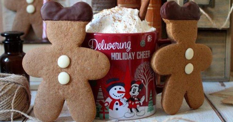Mickey mouse (Topolino) gingerbread cookies senza uova senza burro