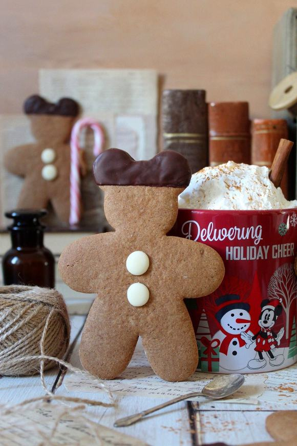 Mickey mouse (Topolino) gingerbread cookies