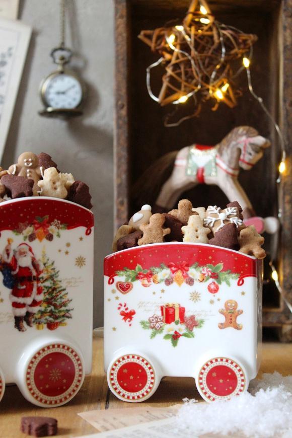 cereali di Babbo Natale pan di zenzero cacao e arancia