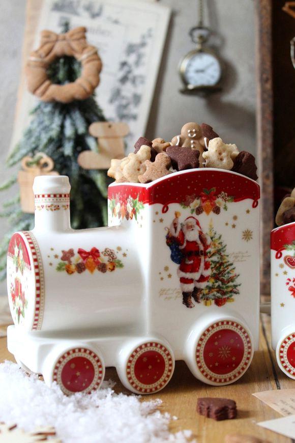 Santa's cereal train: il treno dei cereali di Babbo Natale