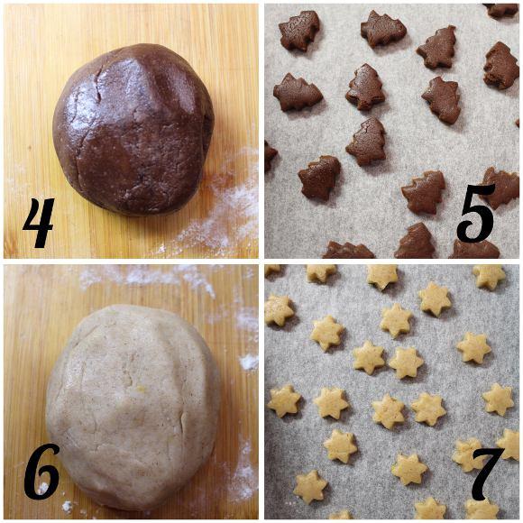 procedimento Santa's cereal train: il treno dei cereali di Babbo Natale pan di zenzero cacao e arancia