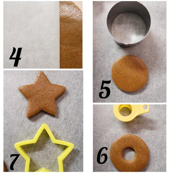procedimento Biscotti al miele di zenzero e speziati alla cannella senza uova senza burro