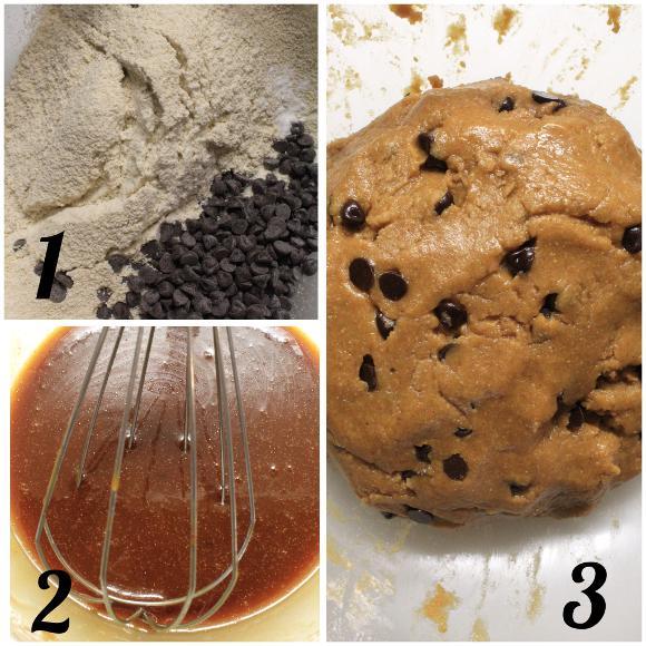 preparazione Cereali tipo cookie alla melassa speziati senza uova senza burro