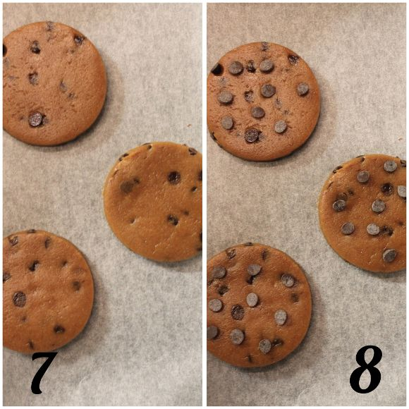 preparazione cookie alla melassa speziati senza uova senza burro