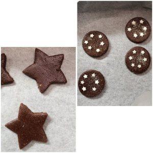 procedimento Capodanno Cookie box di stelle senza uova senza burro