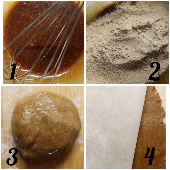 procedimento Cereali-mini biscotti calze della befana alla melassa senza uova senza lattosio
