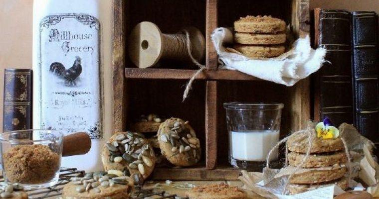 Biscotti mix da colazione con zucchero integrale mascobado vegani