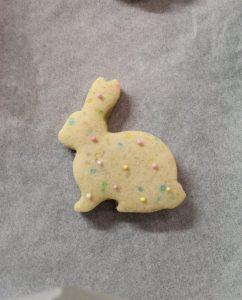 preparazione della Cookie box senza uova senza burro