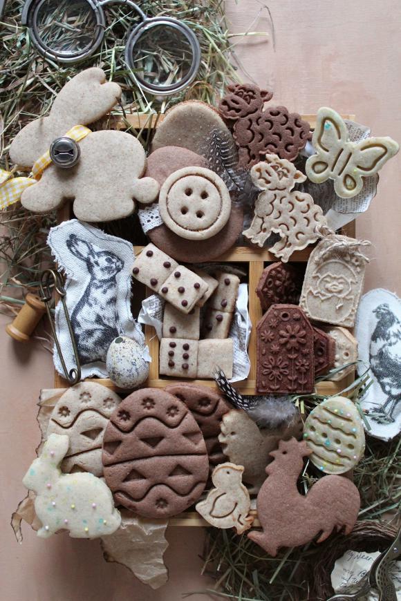 Cookie box di Pasqua vintage