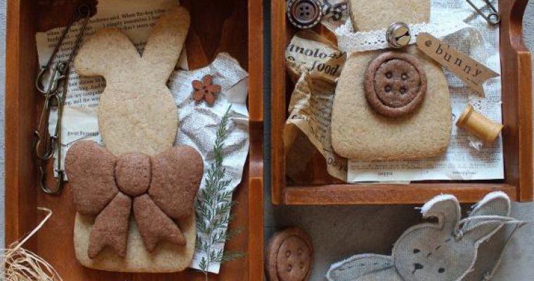 Biscotti a forma di coniglietto in formato maxi senza uova senza lattosio senza burro