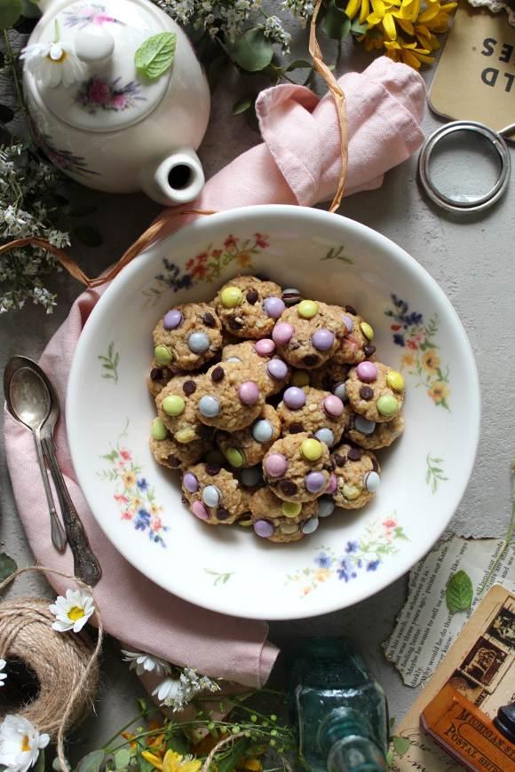 mini monster cookies senza uova
