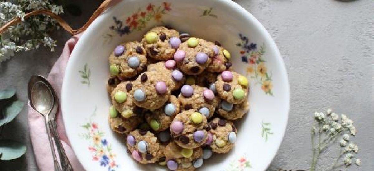 Cereali monster cookies senza uova