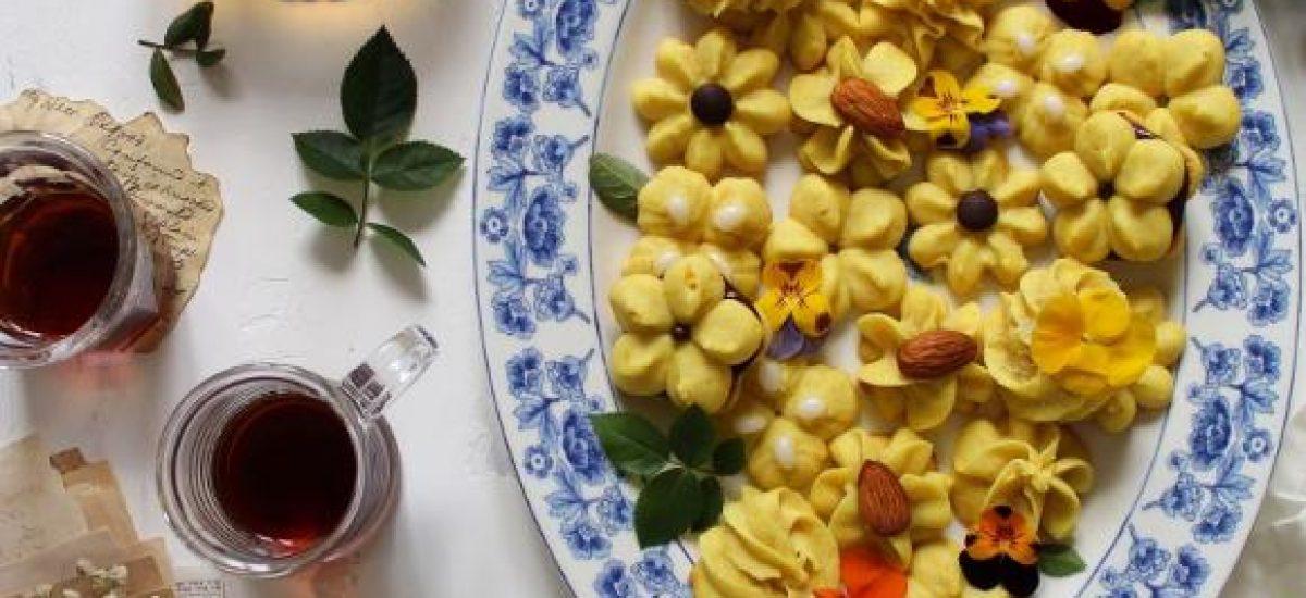 Biscotti di Frolla montata per sparabiscotti senza uova con burro di soia fatto in casa vegan