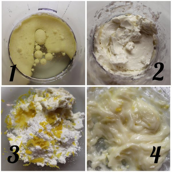 preparazione del burro di soia fatto in casa per biscotti di frolla montata