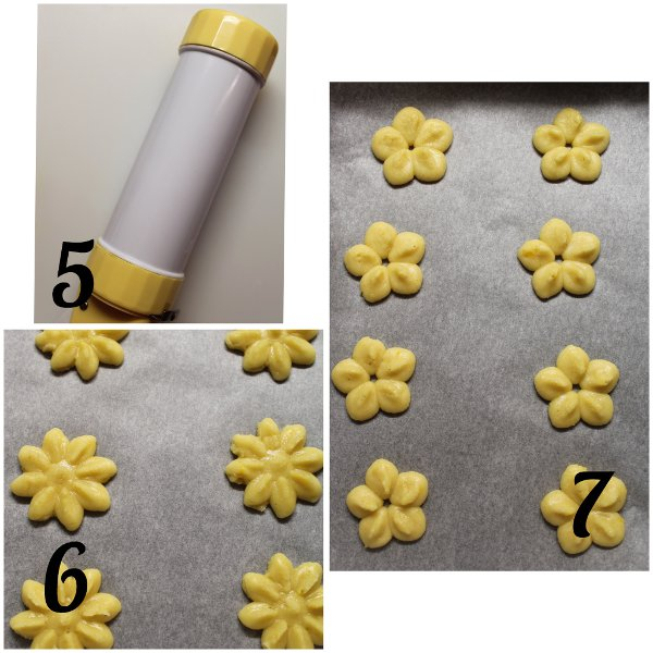 preparazione Biscotti di Frolla montata per sparabiscotti senza uova con burro di soia fatto in casa vegan