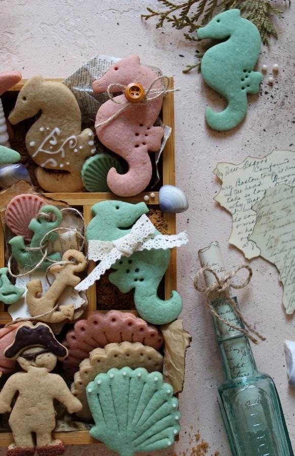 Summer cookie box scatola di biscotti estiva senza uova senza burro