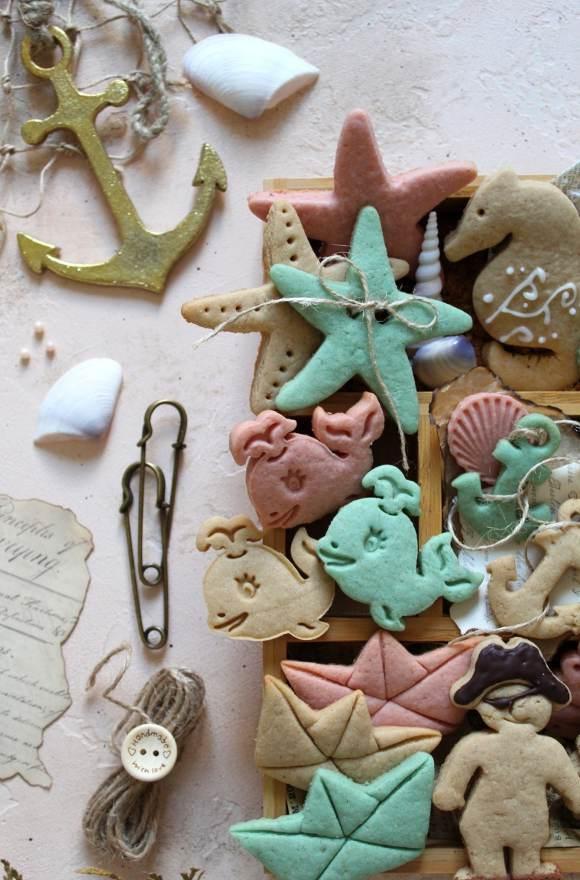 Summer cookie box scatola di biscotti