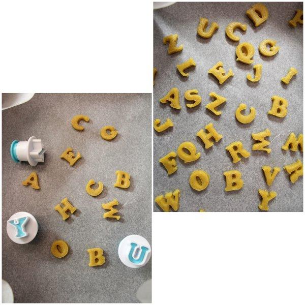 preparazione Cereali alfabeto croccanti all'avena vegan