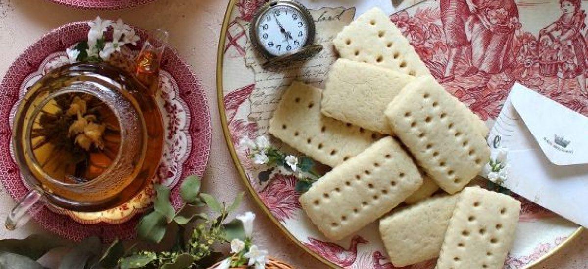 Shortbread con burro di soia fatto in casa vegan