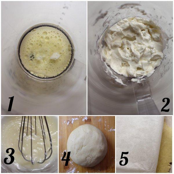 procedimento Shortbread con burro di soia fatto in casa vegan