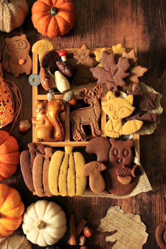 Autumn Cookie box