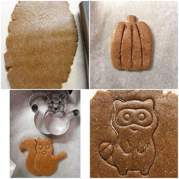 procedimenti Autumn Cookie box: scatola di biscotti autunnale senza uova senza burro